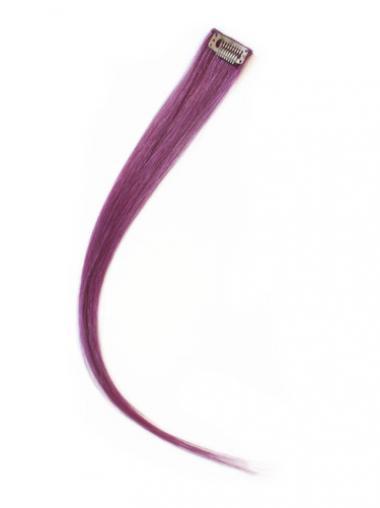 Billige Glatten Schwarzen Clip in Haar Extensions