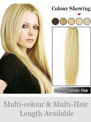 Blonde Glatten ModischenSpinnende Extensions