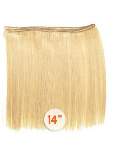 Blonde Glatten Billigen Spinnende Extensions
