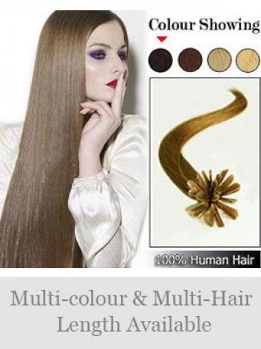 Große Braunen Nagel/U Tip Haar Extensions