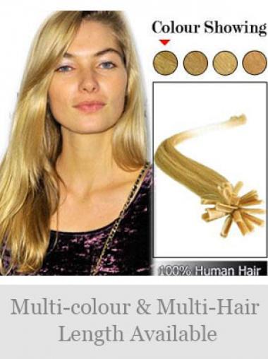 Exquisite Blonden Nagel/U Tip Haar Extensions