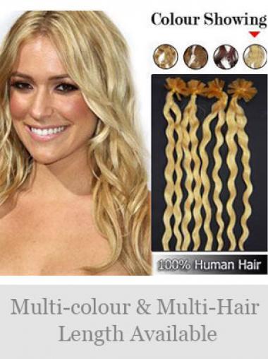 Unglaubliche Blonden Nagel/U Tip Haar Extensions