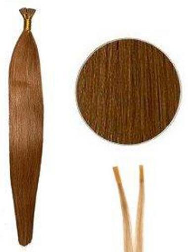 Rotbraune Billigen Stick/I Tip Haar Extensions