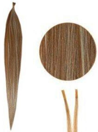 Braune Geeigneten Stick/I Tip Haar Extensions