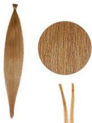 Blonde Moden Stick/I Tip Haar Extensions