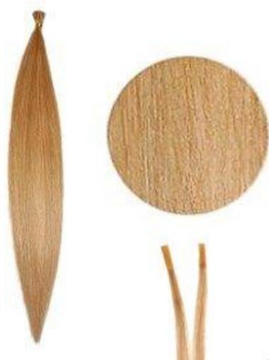 Blonde Naturlichen Stick/I Tip Haar Extensions