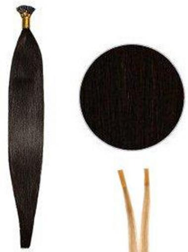 Schwarze Erschwinglichen Stick/I Tip Haar Extensions