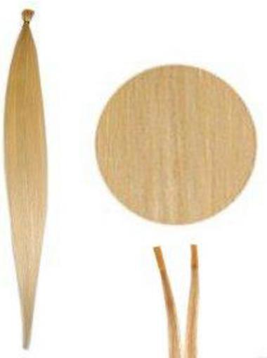 Blonde Populären Stick/I Tip Haar Extensions