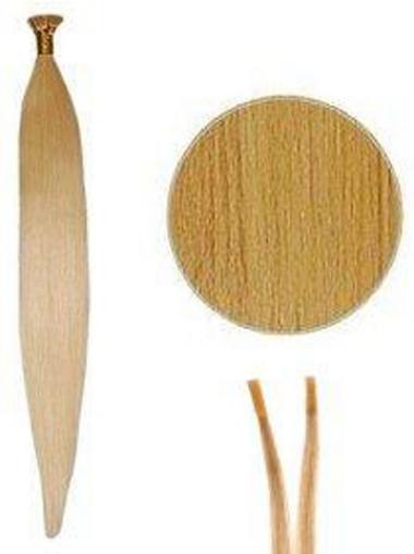Blonde Billigen Stick/I Tip Haar Extensions