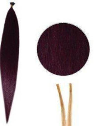 Rote Wunderbaren Stick/I Tip Haar Extensions