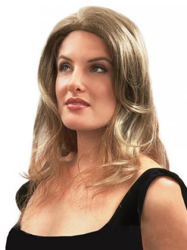 On-line Gewellte Blonden Clip In Haarteile