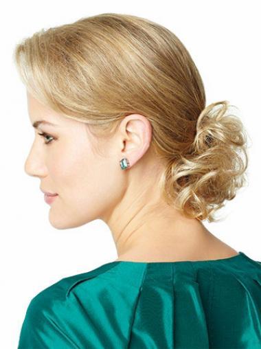 Bequeme Gelockten Blonden Clip In Haarteile