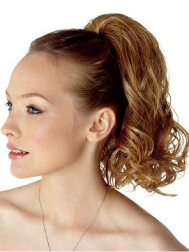 Sehr Wunderbare Gelockten Braunen Clip In Haarteile
