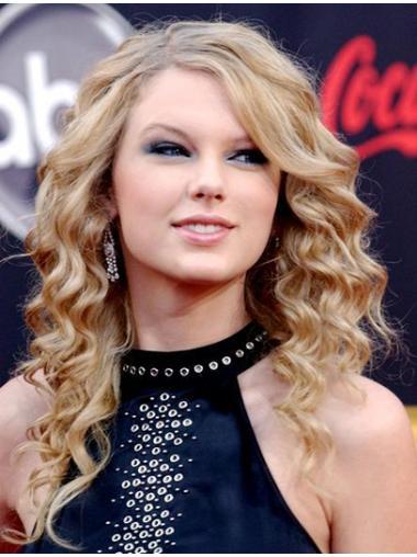 Gelockte Populären Taylor Swift EchthaarPerücken