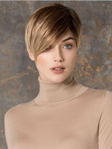 Erschwingliche Blonden Extra Klein Perücken