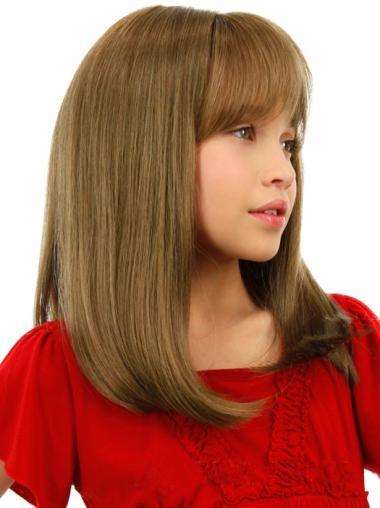 Hübsche Mittleren Blonden Kinder Perücken