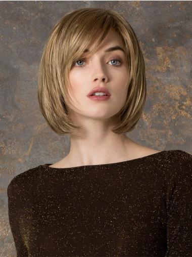 Naturliche Blonden Glatten Neuen Synthetikperücken