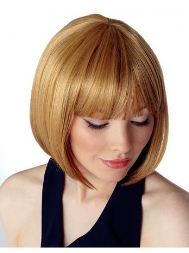 Wunderbare Blonden Glatten Neuen Synthetikperücken