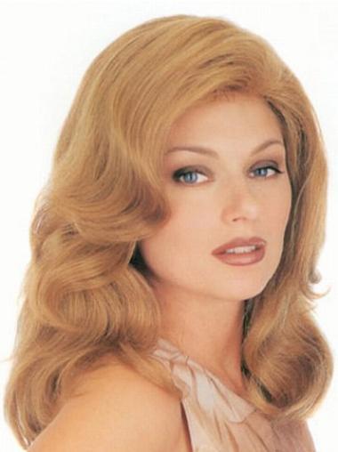 Billige Stufigen Blonden Klassischen Perücken