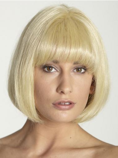 Billiges Bobs Blonde Neuen Echthaarperücken