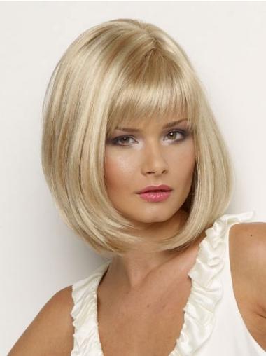Attraktive Blonden Extra Kleinen Perücken