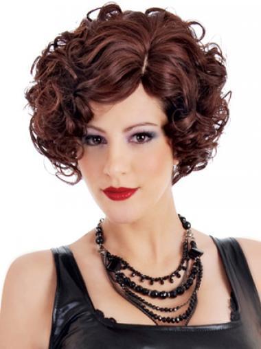 Haarschnitt Stufige Rotbraunen Klassischen Perücken