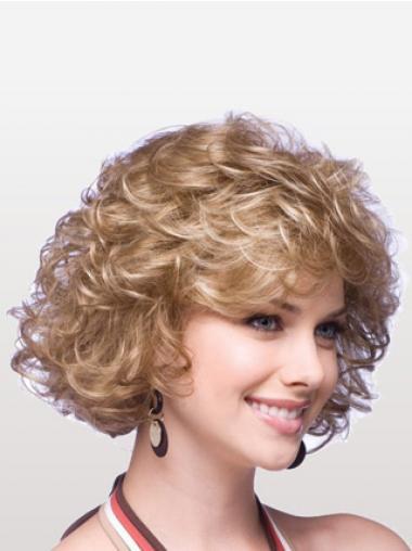 Erstaunliche Stufigen Blonden Klassischen Perücken