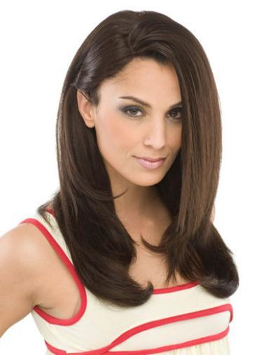 Braune  Haarschnitten Synthetikperücken