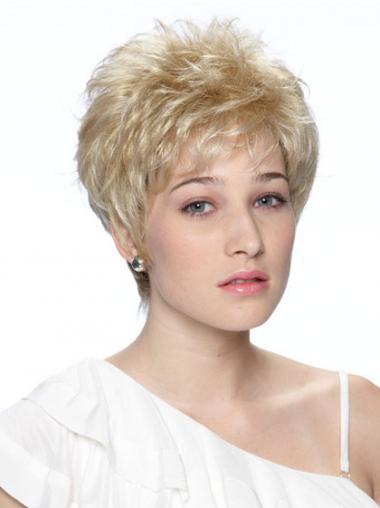 Blonde Modischen Synthetikperücken