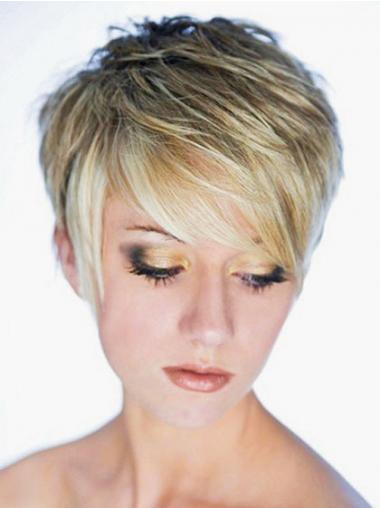 Haarschnitt Blonde Neuen Synthetikperücken