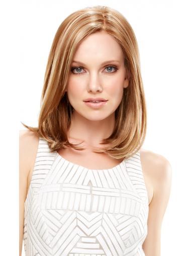Perfekte Mittleren Blonden Neuen Synthetikperücken