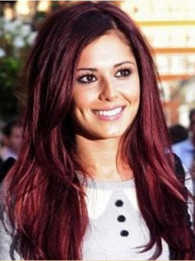 Dauerhafte  Roten Cheryl Cole Promi Perücken