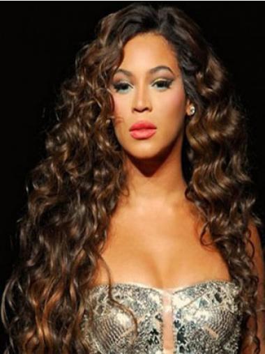 Erstaunliche  Rotbraunen Beyonce EchthaarPerücken