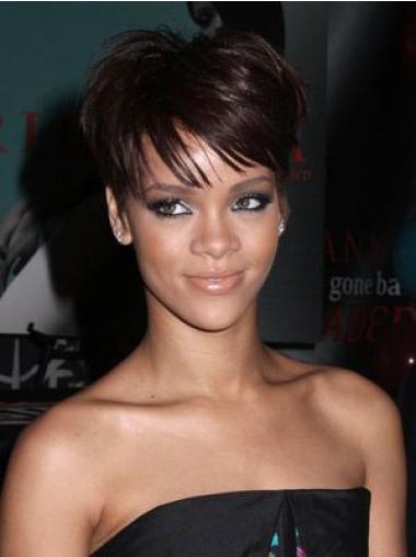 Rotbraune Glatten Männerlichen Rihanna