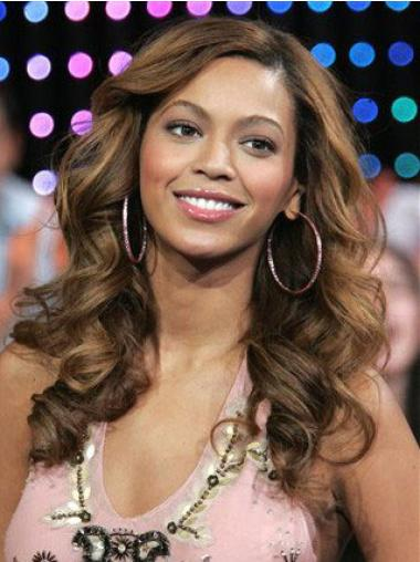 Hübsche Stufigen Braunen Beyonce Perücken