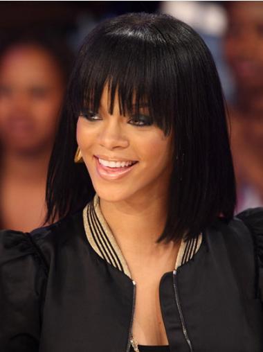 Schwarze Bobs Glatten Billigen Rihanna