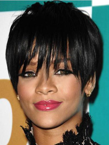 Schwarze Glatten Unglaublichen Rihanna