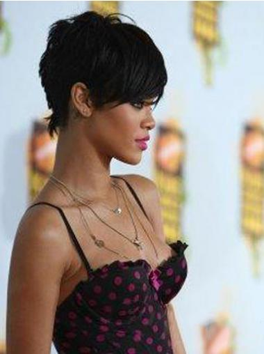 Schwarze Glatten Beliebten Rihanna