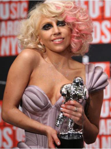 Haarschnitt Blonde Mittel Lady Gaga