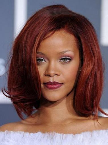 Rote Glatten Erschwinglichen Rihanna