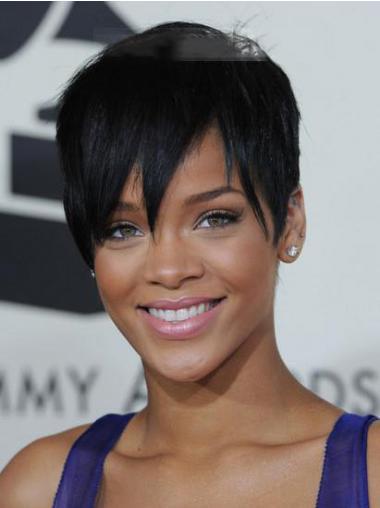 Schwarze Glatten Erstaunlichen Rihanna
