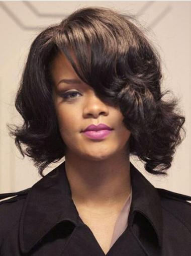Braune Gewellten Populären Rihanna