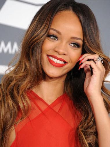 Braune  Gewellten Flexibilitäten Rihanna