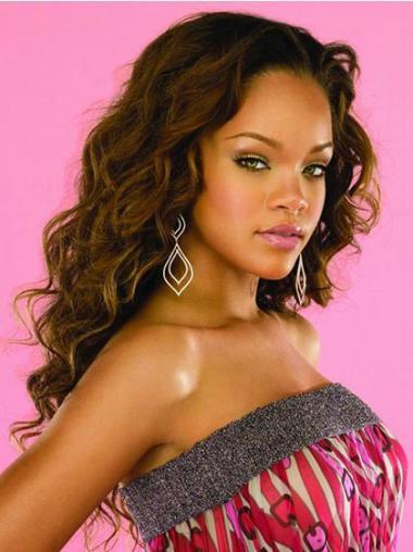 Braune Gewellten Hochwertigen Rihanna