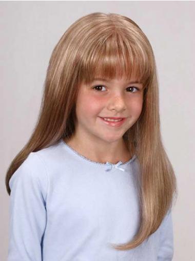 Billige Langen Blonden Kinder Perücken