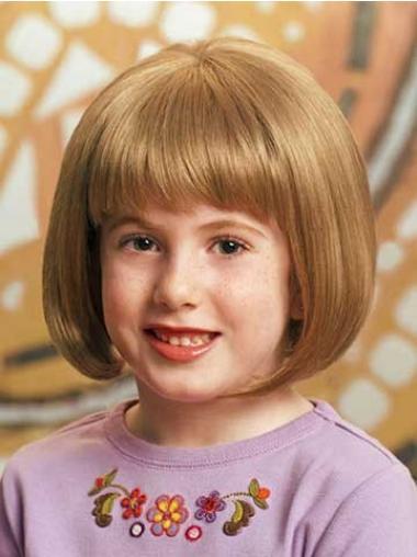 Beliebte Mittlere Blonden Kinder Perücken