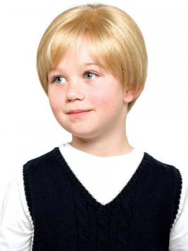 Bequeme Kurzen Blonden Kinder Perücken