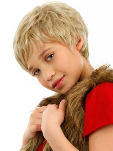 Männerliche Kurzen Blonden Kinder Perücken