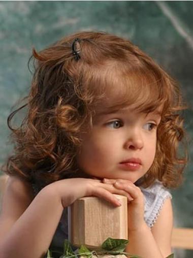 Stile Mittleren Rotbraunen Kinder Perücken