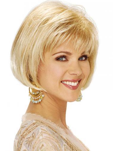 Dauerhafte Bobs Blonden Klassischen Perücken